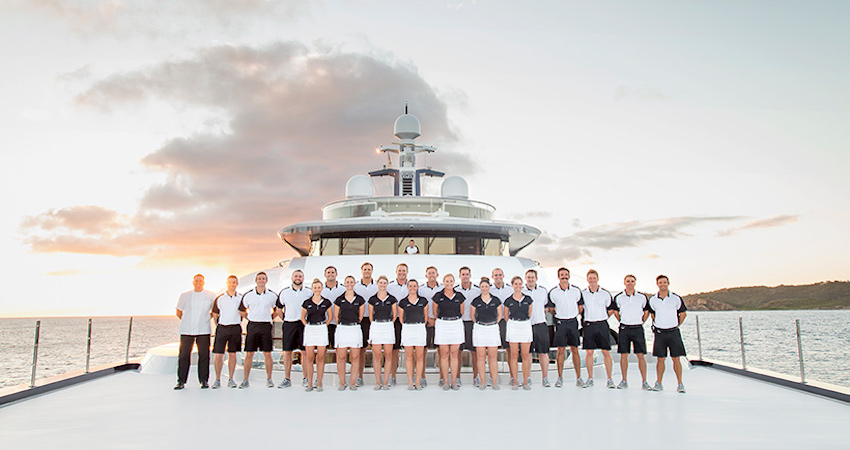 Crew Positions on SuperYachts